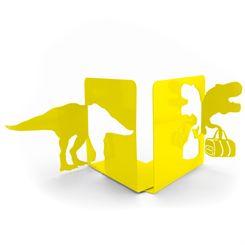 Mustard T-Rex Bookends