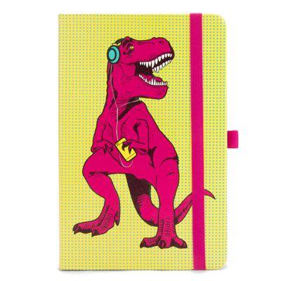 Mustard T-Rex Notebook - Main