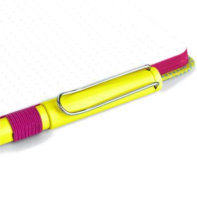 Mustard T-Rex Notebook - Pen