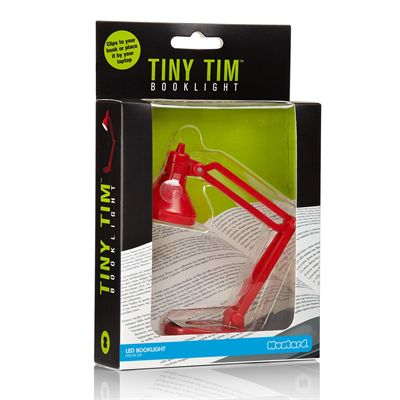 Mustard Tiny Tim Book Light Packaging
