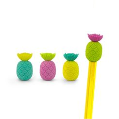 Mustard Totally Tropical Pineapple Eraser Toppers