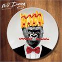 Mustard Wild Dining Gorilla Ceramic Dinner Plate Image 1