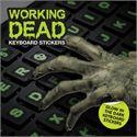 Mustard Working Dead Glow in The Dark Keyboard Stickers