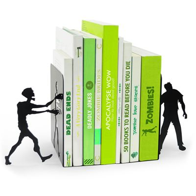 Mustard Zombie Bookends