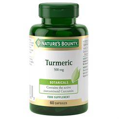 Natures Bounty Turmeric 500mg - 60 Capsules