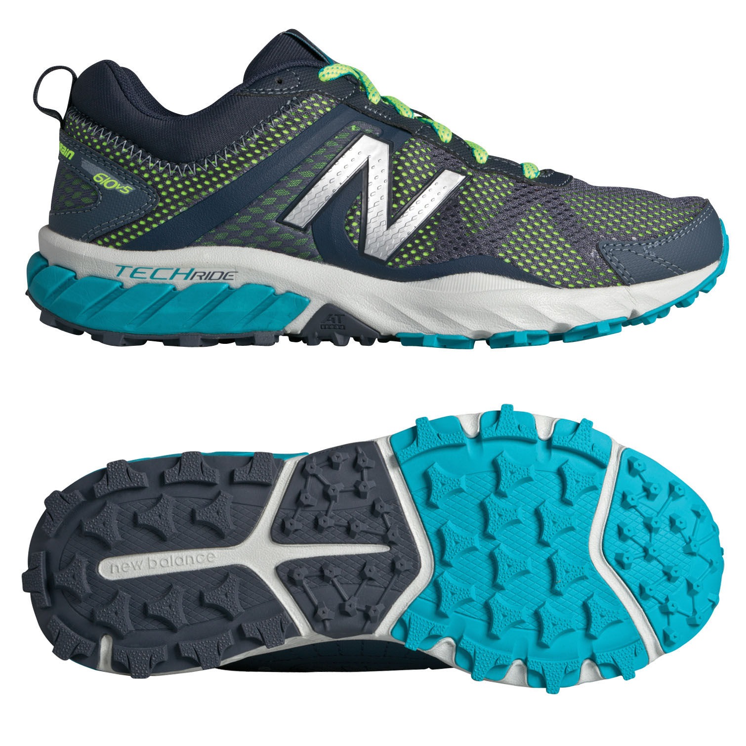 New Balance 610 V5 Ladies Running Shoes - 4.5 UK