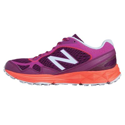 New Balance 910 V2 Ladies Trail Running Shoes - Side View