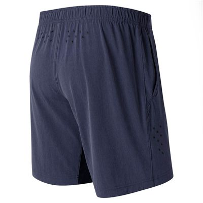New Balance 9 inch Tournament Milos Mens Shorts - Navy - Back