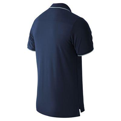 New Balance Challenger Classic Mens Polo Shirt - Navy - Back