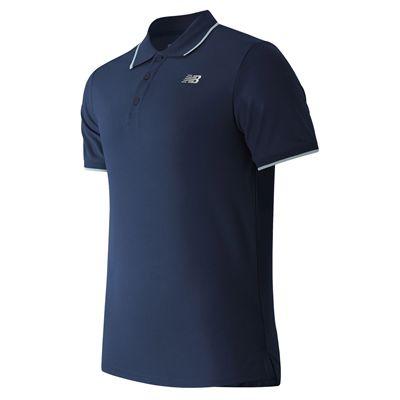 New Balance Challenger Classic Mens Polo Shirt - Navy