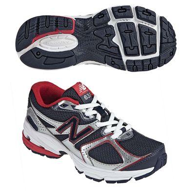 New Balance KJ633 Kids Running Shoes Navy Red