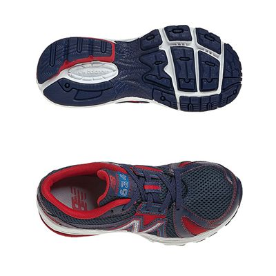 New Balance KJ634 Kids Running Shoes - Navy/Red