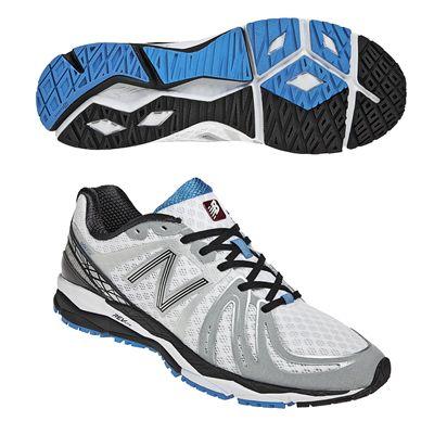 New Balance M890V2 Mens Running Shoes White Blue
