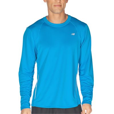 New Balance Mens Tempo Long Sleeve T-shirt AW12