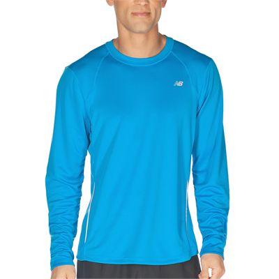 New Balance Mens Tempo Long Sleeve T-shirt AW12