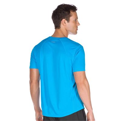 New Balance Tempo Mens Short Sleeve T-Shirt - Back