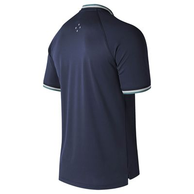 New Balance Tournament Henley Mens T-Shirt - Navy - Back