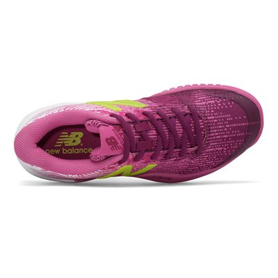 New Balance WC906 v3 Ladies Tennis Shoes - Above