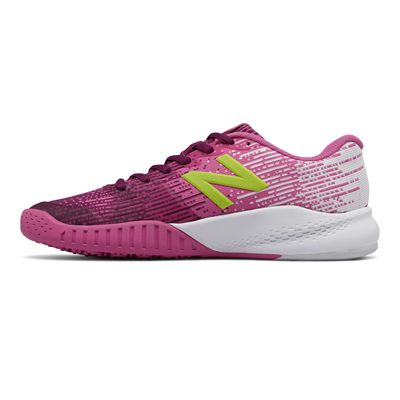 New Balance WC906 v3 Ladies Tennis Shoes - Left Side