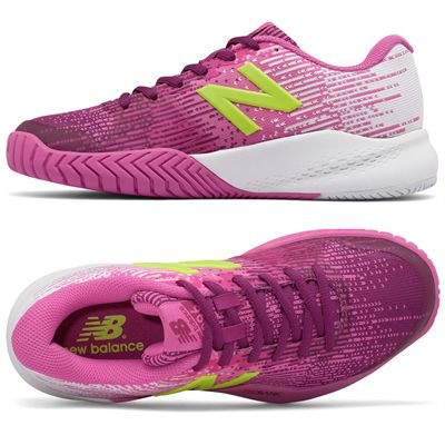 New Balance WC996 v3 Ladies Tennis Shoes - Side/Top