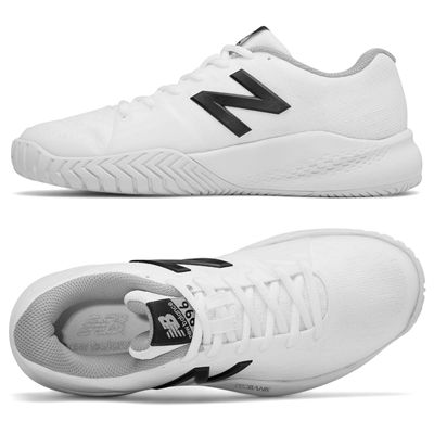 New Balance WC996 v3 Ladies Tennis Shoes - White - Side/Top
