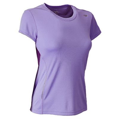 New Balance Womens CB Tempo Short Sleeve Top - 2012 - Side