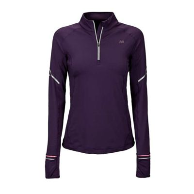 New Balance Womens NBx Half Zip Running Top