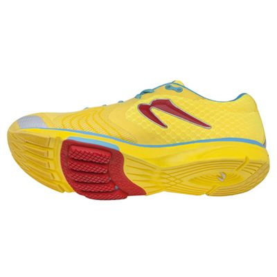 Newton Distance III Neutral Ladies Running Shoes - angle view