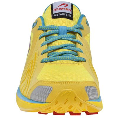 Newton Distance III Neutral Ladies Running Shoes - front view