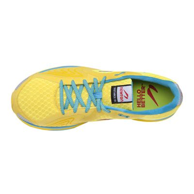 Newton Distance III Neutral Ladies Running Shoes - top view