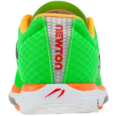 Newton Distance IV Neutral Mens Running Shoes - Back View
