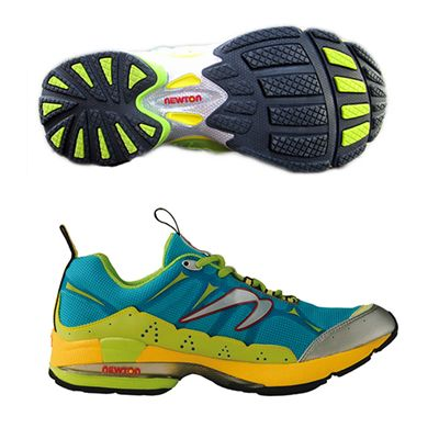 Newton Guidance Off Road Ladies Running Shoe Blue Yellow