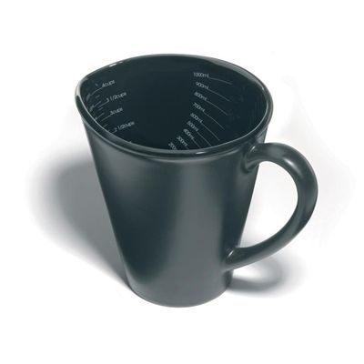 Nigella Lawson Ceramic Measuring Jug - 1 Litre - Black