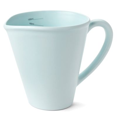 Nigella Lawson Ceramic Measuring Jug - 1 Litre - Blue