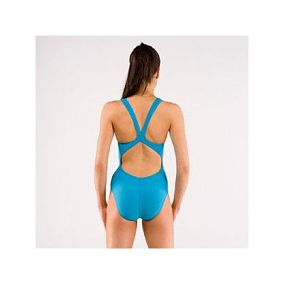 Nike Logo Ladies Swim Suit Back