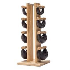 NOHrD by WaterRower Ash Swing Tower Swing Bells Set