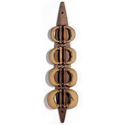 NOHrD by WaterRower Walnut Swing Board Swing Bells Set