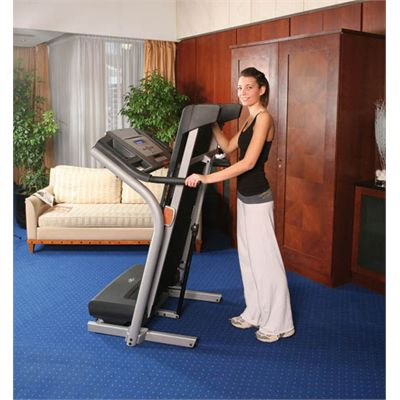 C2500 Treadmill Folded