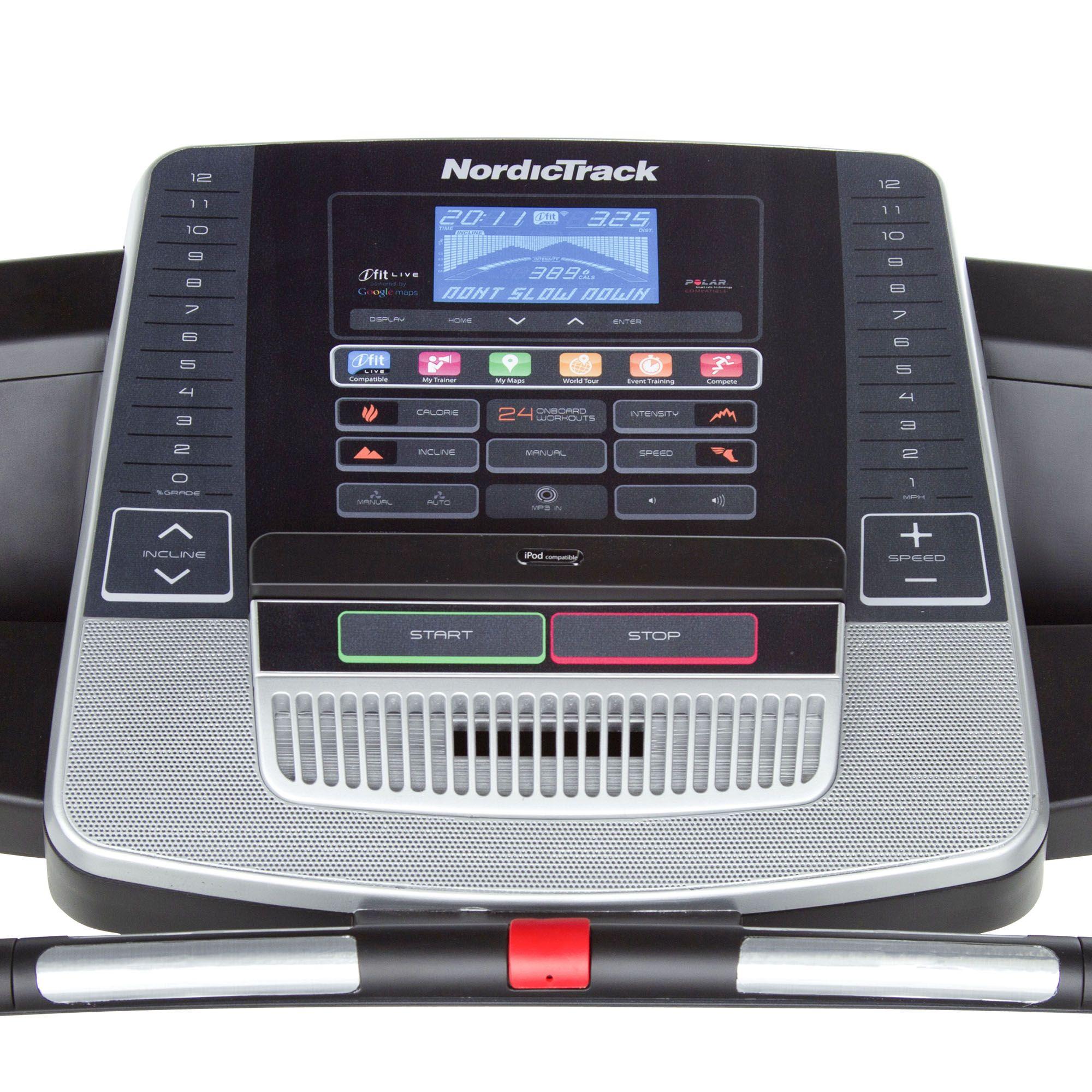 Proform 500 Treadmill price Acoustics 2 0 elliptical Manual