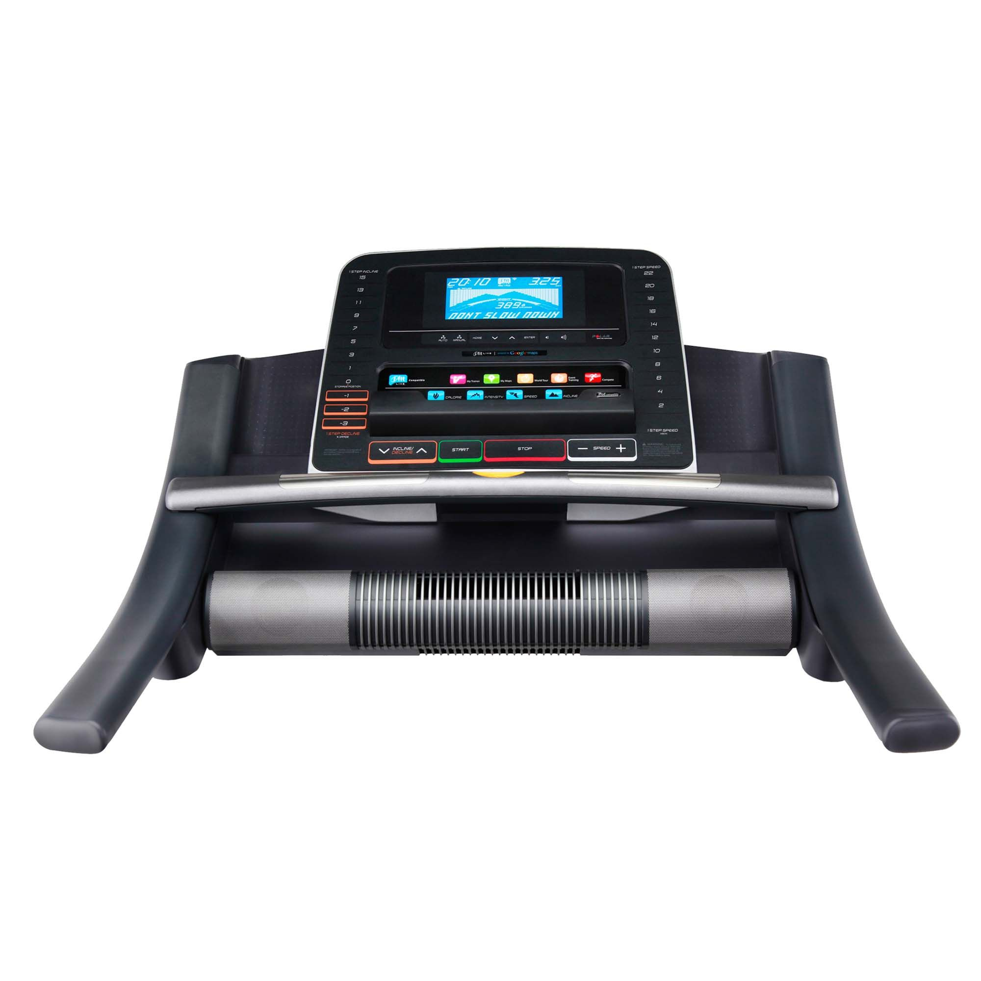 how to use ifit on nordictrack treadmill