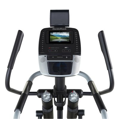 NordicTrack A.C.T. Commercial 7 Elliptical Cross Trainer 2019 - Consola