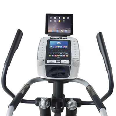 NordicTrack A.C.T. Commercial 7 Elliptical Cross Trainer - Console