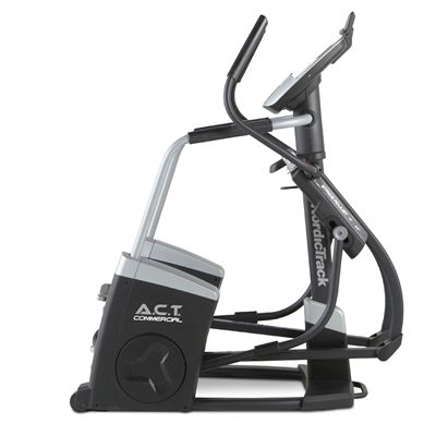 NordicTrack A.C.T. Commercial Elliptical Cross Trainer - Console - Side