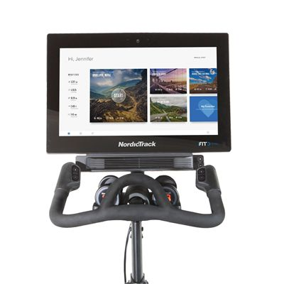 NordicTrack Commercial S22i Studio Indoor Cycle- Console