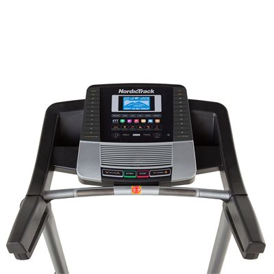 NordicTrack C200 Treadmill - Console View