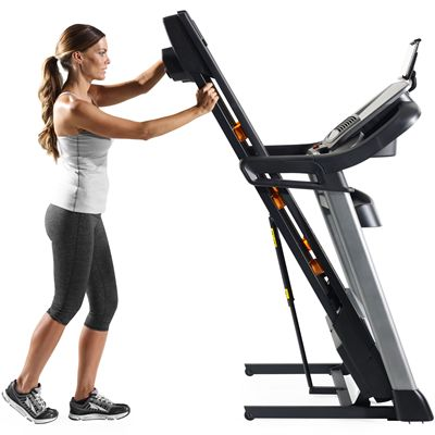 NordicTrack C990 Treadmill-Folded