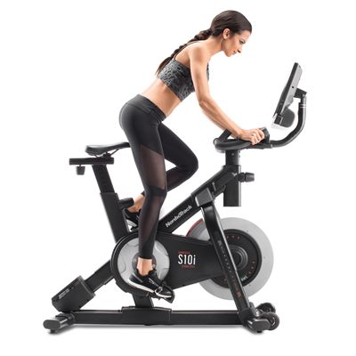 NordicTrack Commercial S10i Studio Indoor Cycle - In Use