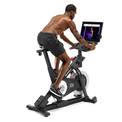 NordicTrack Commercial S22i Studio Indoor Cycle - In Use 2