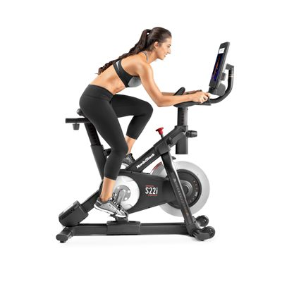 NordicTrack Commercial S22i Studio Indoor Cycle - In Use
