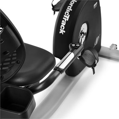NordicTrack Commercial VR25 Recumbent Exercise Bike 2020 - Angle